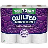 54-Count Quilted Northern Ultra Plush 3-Ply Toilet Paper Rolls $34.82 w/ S&S + Free s/h