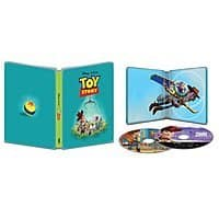 Toy Story 1-4 4k Ultra HD Blu-ray Steelbook  $14.99 each  + More at BestBuy