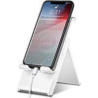 Adjustable Cell Phone Stand,SAIJI Foldable Desktop Phone Holder Cradle Dock for Office $3.3