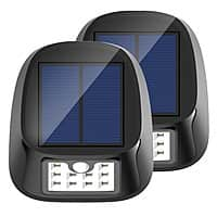 Prime: 2 pack of Solar Light, 10 LED Waterproof Outdoor Wireless Motion Sensor Lights with 3 Modes $  9.99