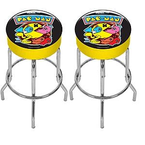 "Walmart.com: Arcade1Up Pac-Man Arcade Adjustable Stool, 21.5"" to 29.5"" - Set of 2  $86.67"