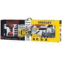 STANLEY BLACK+DECKER BCPKSBD99CWM 20V 79pc Home Project Kit $35 @ Walmart YMMV
