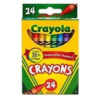 Crayola: Crayon Box 24ct: $0.50/Color Pencils 12ct $1/ Fine Line Markers 10ct:$1 Broad Line Markers 10ct $1 w/store pick up ~ Office Depot/Max