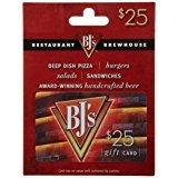 $25 BJ's Restaurant Gift Card $20 @Amazon *Lightning Deal