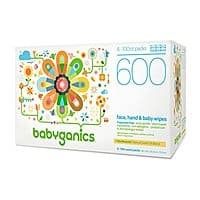 Prime Members: 600-Count Babyganics Baby Wipes (Fragrance Free) $11.20 5% or $9.17 15% AC w/ S&S + Free S&H