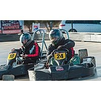Las Vegas: Two Go-Kart Races for One or Two or VIP Package for Two at Gene Woods Racing Experience (Up to 80% Off) - Groupon