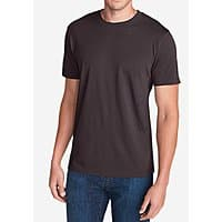 Eddie Bauer 60% Off Clearance: Men's Legend Wash Short-Sleeve T-Shirt - Slim Fit $6.50 & MORE - Free Ship on $99+
