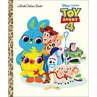 Toy Story 4 Little Golden Book $2.99 - Amazon
