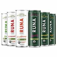 6-Count 12 oz. Cans - RUNA Organic Clean Energy Drink (Variety Pack) $6.00 - Amazon