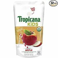 Prime Day: 32-Ct. Tropicana Kids Organic Juice Drink Pouch (Variety Pack) & MORE $7.91 5%