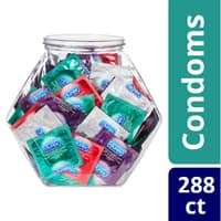 2-Pack 144ct Durex Ultra Fine Natural Latex Fish Bowl Condoms $40 + Free Shipping