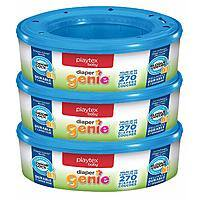 3-Pack 270-Count Playtex Diaper Genie Refills $9.28 5% or $7.59 15% AC w/s&s