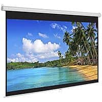 119 in. HD Pull Down Manual Projector Screen - White $39.99 + Free Shipping
