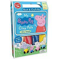 Klutz Jr. My Peppa Pig Clay Pals Craft Kit $4.61 - Amazon