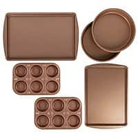 6-Piece BakerEze Copper Nonstick Bakeware Set (Muffin Cake & Cookie Pans) $13.99 - Walmart (Free Store PickUp)