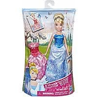 Disney Princess Cinderella Doll w/ 2 Outfits (Summer Day Styles) $6.57 - Amazon
