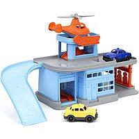 Green Toys Parking Garage w/ 3 Vehicles $12.80 + Free S&H on $35+