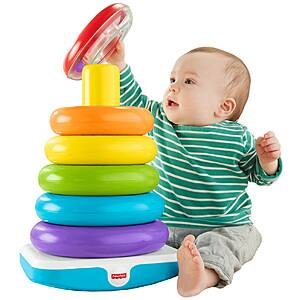 Fisher-Price Giant Rock-a-Stack w/ 6-Colorful Rings $10 + Free Store Pickup