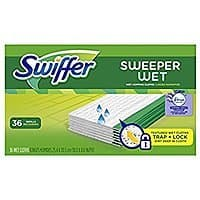 Prime Members: 36-Ct Swiffer Sweeper Wet Mopping Pad Refills (Lavender Vanilla) $7.90 or less w/ S&S + Free S/H