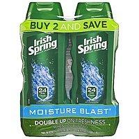 2-Pack 18oz Irish Spring Moisture Blast Moisturizing Body Wash $  4.54 or less w/ S&S + Free S/H