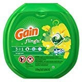 3-Pk of 48oz Gain Smart Pouch Liquid Laundry Detergent $  10.14 or less w/ S&S + Free S/H