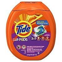 81-Ct Tide Pods HE Detergent Pacs (Spring Meadow) $  12.20 or less w/ S&S + Free S/H