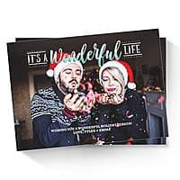 "Amazon Prints: 50-Ct Custom Holiday Cards (5""x7"", 120-lb Card Stock)  $18.75 + Free Shipping"