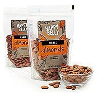 2-Pack 16oz Happy Belly Whole Raw Almonds $7.60 or less w/ S&S + Free S/H (prime only)