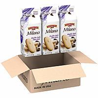 3-Pack 7.5oz Pepperidge Farm Milano Cookies (Double Dark Chocolate) $6.33 or less w/ S&S + Free S/H