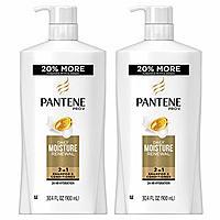 2-Pk 30.4oz Pantene Shampoo & Conditioner 2-in-1 Pro-V Daily Moisture Renewal $9.20