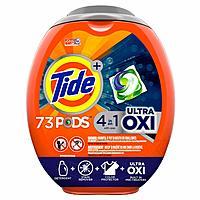 3x Tide Pods Ultra Oxi Liquid Laundry Detergent Pacs, 73 Count $33.25($11.08 each)