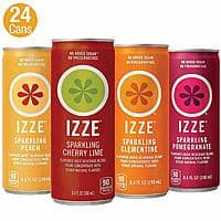 24-Pack of 8.4-Oz IZZE Sparkling Juice (Sunset Variety Pack) $9.29 or less w/ S&S + Free S/H