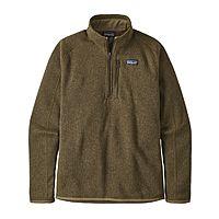Patagonia Men's Better Sweater 1/4 Zip Pullover $59.40