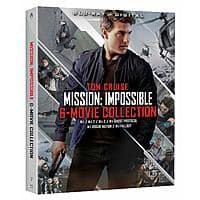 Impossible - 6 Movie Collection $12.99 + Free ship/Prime
