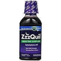 ZzzQuil Nighttime Sleep Aid, Warming Berry Flavor Liquid, 12 Oz $  2.12 or less S&S + FS at Amazon