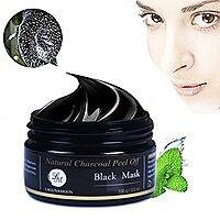 Natural Charcoal Peel off Black Mask, for Facial Cleaning and Moisturizing $  7.99