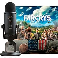 Blue Microphones Blackout Yeti w/ Far Cry 5 (PC Digital Download) $77 + Free Shipping
