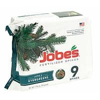 Jobe's Evergreen Fertilizer Spikes for Evergreen Trees (9 Spikes) $4.00 w/ Prime Shipping @ Amazon