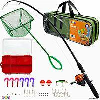 Play22 Fishing Pole Starter Kit For Kids $13.99 w/ Prime shipping @ Amazon