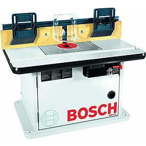 Bosch Cabinet Style Router Table (RA1171) $130 @ Amazon