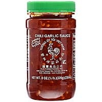 8oz Huy Fong Chili Garlic Sauce $1.80