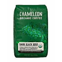 20% Off Chameleon Whole Bean Coffee $10.39 for 12 Ounce Bag
