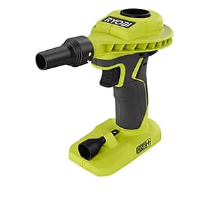Ryobi ONE+ 18V Cordless High Volume Power Inflator (Tool-Only) $20 + Free Shipping