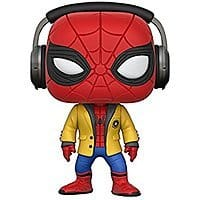 Funko Pop Movies HC-Spider-Man w/Headphones Collectible Vinyl Figure for $5.98 @amazon at its lowest price as Add-on item