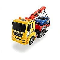 """Dickie Toys 21"""" Air Pump Action Tow Truck Vehicle at its Best price $12.50 @amazon"""