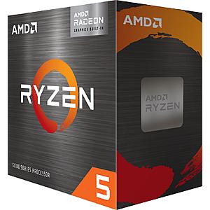 AMD - Ryzen 5 5600G 6-Core 12-Thread Unlocked Desktop Processor - $229 at Best Buy