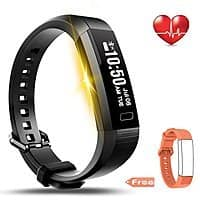LEMFO Fitness Tracker Bluetooth Smart Watch Heart Rate Monitor Pedometer Bracelet for $  16.11