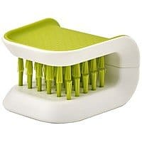 Joseph Joseph 85105 BladeBrush Knife and Cutlery Cleaner Brush Bristle Scrub Kitchen Washing Non-Slip, Green [Green] - $  6.23 & FREE Shipping on orders over $  25.
