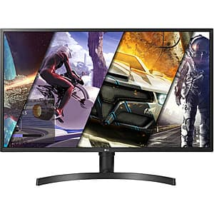 "32"" LG 32UK550-B 4K UHD 60Hz VA FreeSync LCD Monitor $300 + Free Shipping"