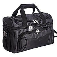 24-can Double Deck Soft Cooler with Hard Liner and Pass thru Pocket for luggage $  20.99